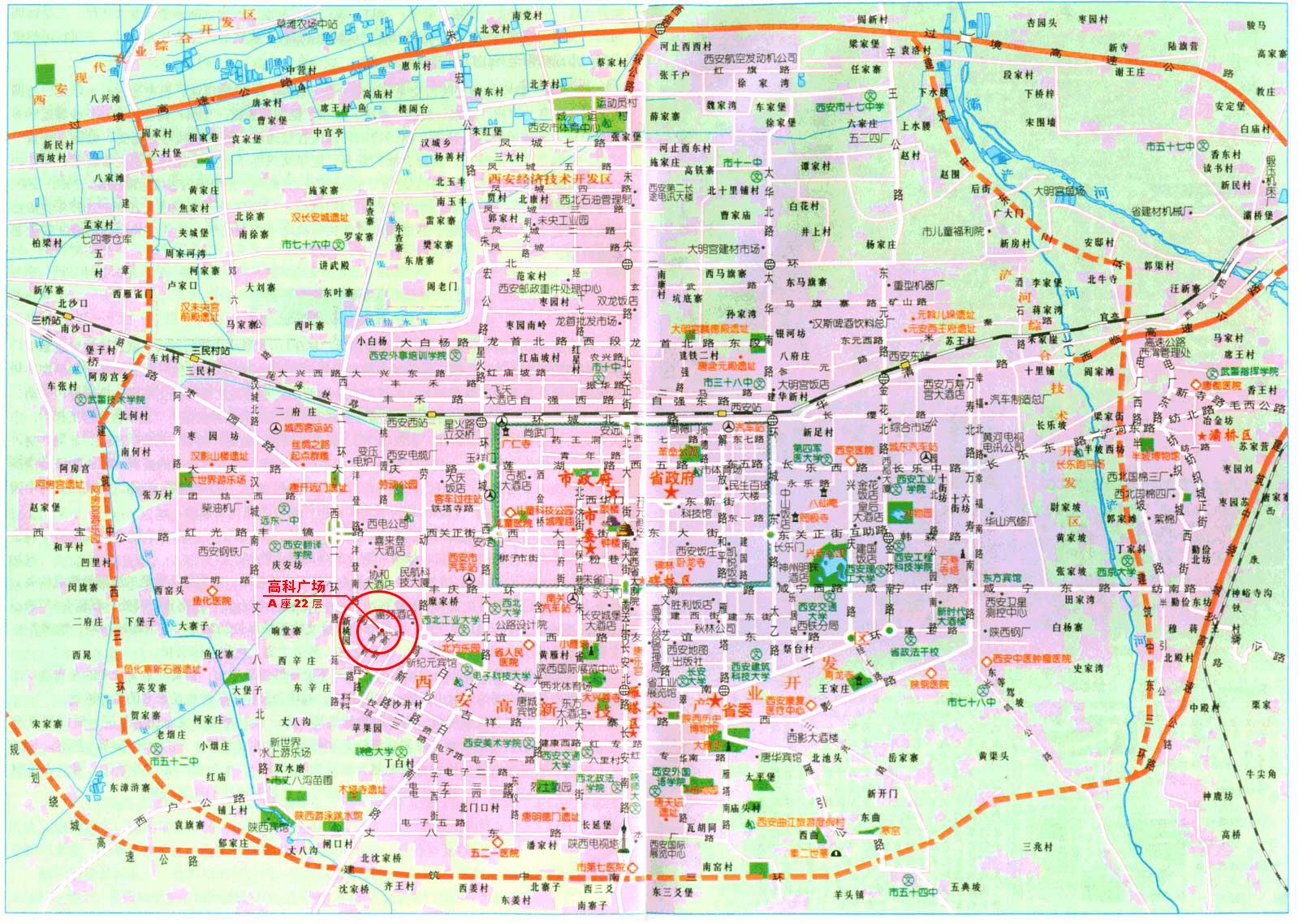 (查看西安市地图)
